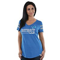 Women's Majestic Detroit Lions Game Day Tee