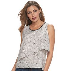 Women's Juicy Couture Embellished Layered Tank