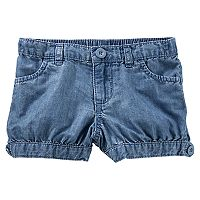 Toddler Girl OshKosh B'gosh® Chambray Pull-On Bubble Shorts