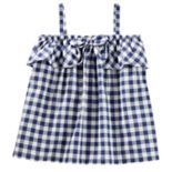 Toddler Girl OshKosh B'gosh® Gingham Bow Tank Top