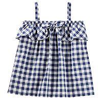 Toddler Girl OshKosh B'gosh® Gingham Bow Tank Top