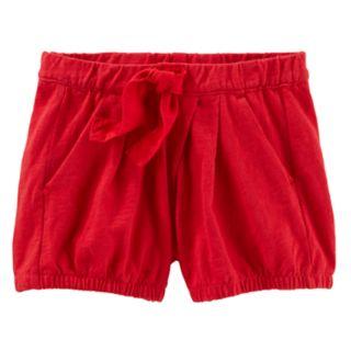 Toddler Girl OshKosh B'gosh® Pleated Bubble Shorts