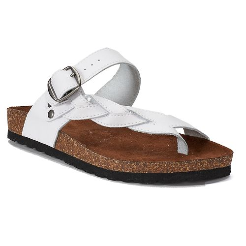 a19e7f9bfa0 SONOMA Goods for Life™ Maurine Women s Leather Sandals