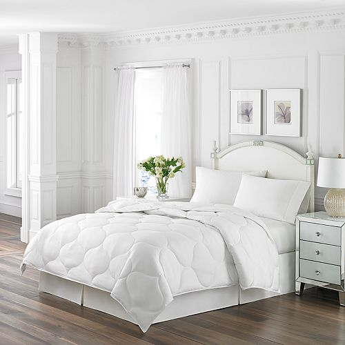 Laura Ashley Lifestyles Microfiber Quilted Comforter