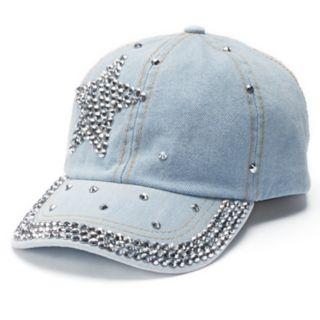 Women's Mudd® Star Bling Baseball Cap