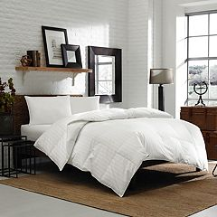 Eddie Bauer White Down Medium Warmth Comforter