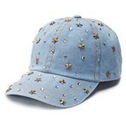 Women's Mudd® Stones & Stars Baseball Cap