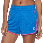 Women's FILA SPORT® Space-Dyed Workout Shorts