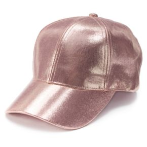 Women's Mudd® Metallic Baseball Cap