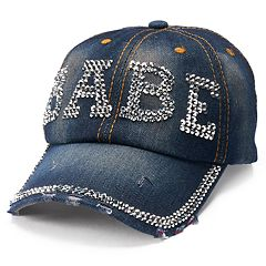 Women's Mudd® 'Babe' Bling Baseball Cap
