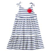 Toddler Girl OshKosh B'gosh® Striped Babydoll Dress