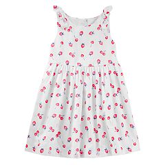 Toddler Girl OshKosh B'gosh® Fruit Bow Dress