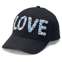 Women's Mudd® Floral 'Love' Cap