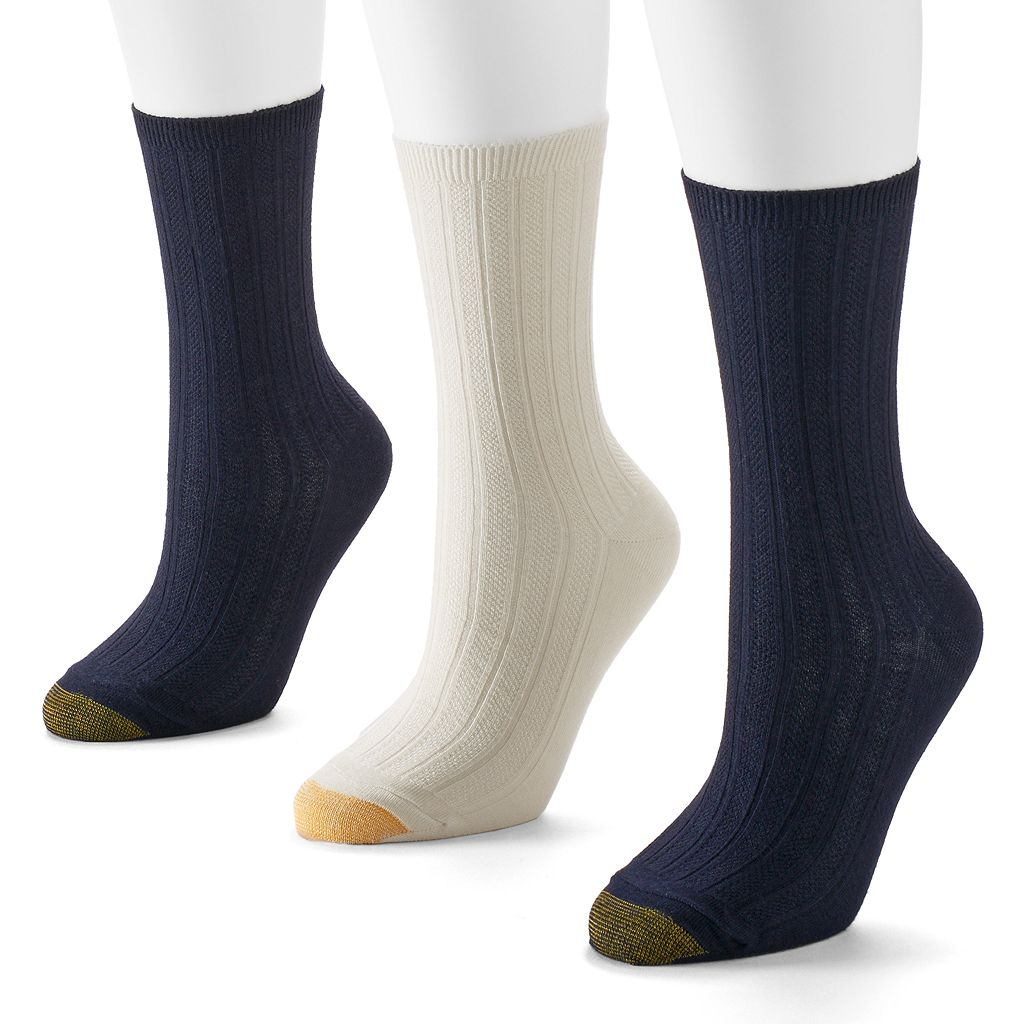 GOLDTOE® 3-pk. Trellis Socks