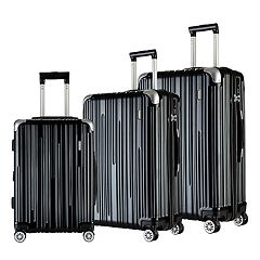 Travelers Club Nurmi 3 pc Luggage Set