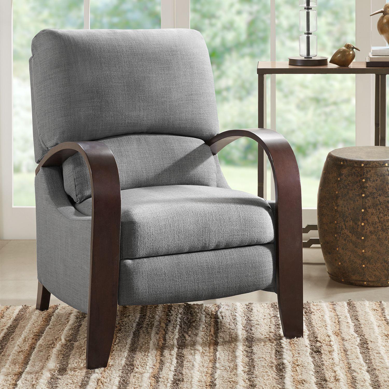 Madison Park Sheridan Mid Century Modern Recliner Chair