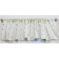Nurture 2-pk. Neutral Cut Dot Valance Set