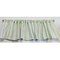 Nurture 2-pk. Neutral Stripe Valance Set