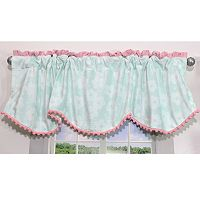 Nurture 2-pk. Butterfly Wings Valance Set
