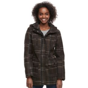 Juniors' Urban Republic Plaid Anorak Jacket