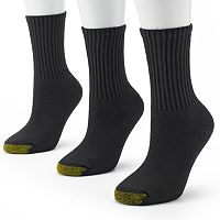 GOLDTOE 3-pk. Ultra Tec Crew Socks