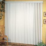 Achim Patio Door Ribbed 3.5-Inch Vertical Blind