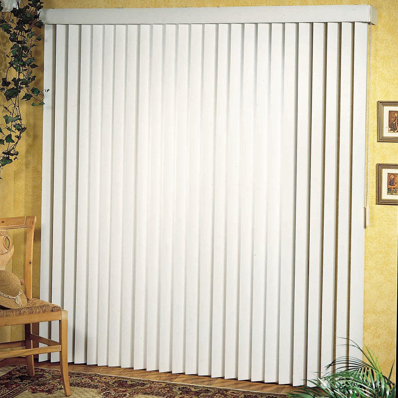 Achim Patio Door Ribbed 3.5 Inch Vertical Blind
