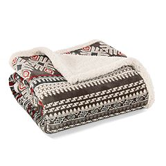 Eddie Bauer Printed Throw