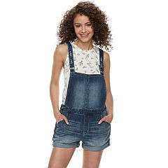 Juniors' DENIZEN from Levi's® Jean Shortalls