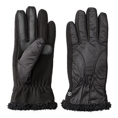 Women's isotoner Water Repellent Chenille Tech Gloves