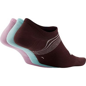 Women's Nike Everyday Plus Lightweight Training Footie Socks 3-Pack