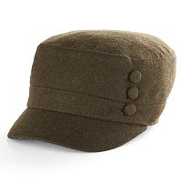 Women's Apt. 9® 3-Button Wool Cadet Hat