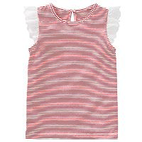 Toddler Girl OshKosh B'gosh® Striped Eyelet Top