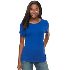 Women's Apt. 9® Snap-Back Tee
