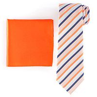 Men's Croft & Barrow® Patterned Tie & Pocket Square Set