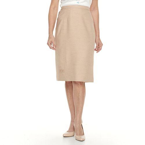 Petite Alfred Dunner Studio Skirt