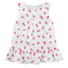 Toddler Girl OshKosh B'gosh® Fruit Ruffle-Hem Tank Top