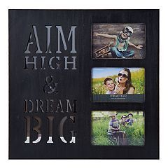 Melannco 'Dream Big' 3-Opening 4' x 6' Collage Frame