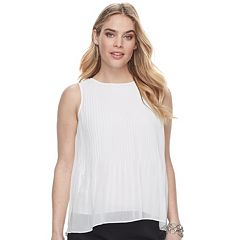 Women's Apt. 9® Pleated Chiffon Tank