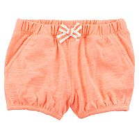 Baby Girl Carter's Slubbed Bubble Shorts
