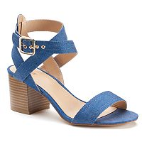 Apt. 9® Peaceful Women's Block Heel Sandals