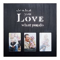 Melannco Black 'What You Love' 3-Opening 4' x 6' Collage Frame