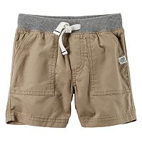 Boys 4-7 Carter's Khaki Shorts