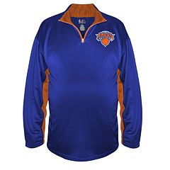 Big & Tall Majestic New York Knicks Pullover