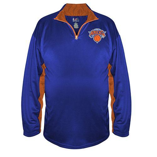 Big & Tall Majestic New York Knicks Pullover