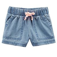 Baby Girl Carter's Chambray Shorts