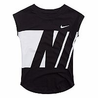 Girls 4-6x Nike Wraparound Graphic Tee