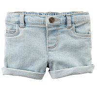 Baby Girl Carter's Cuffed Jean Shorts
