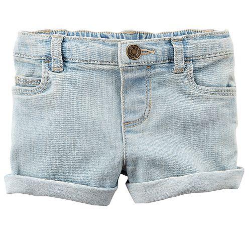 Baby Girl Carter's Cuffed Jean Shorts