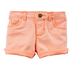 Baby Girl Carter's Cuffed Shorts